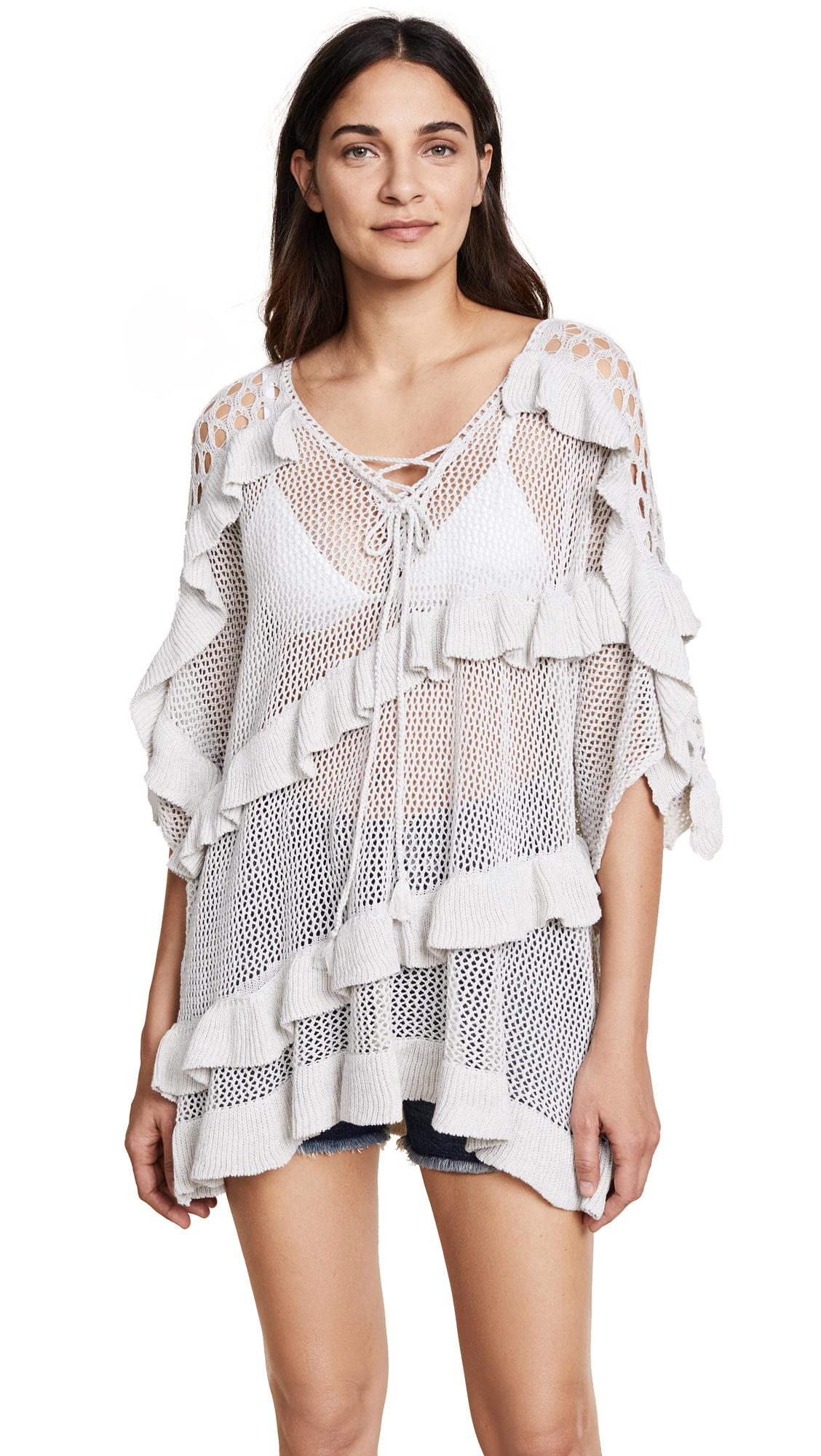 Suboo Years From Now Knit Caftan - White