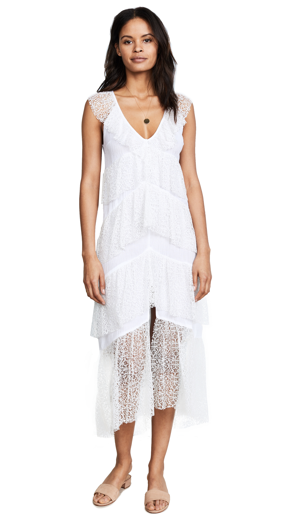 Suboo Days Like These Lace Maxi - White