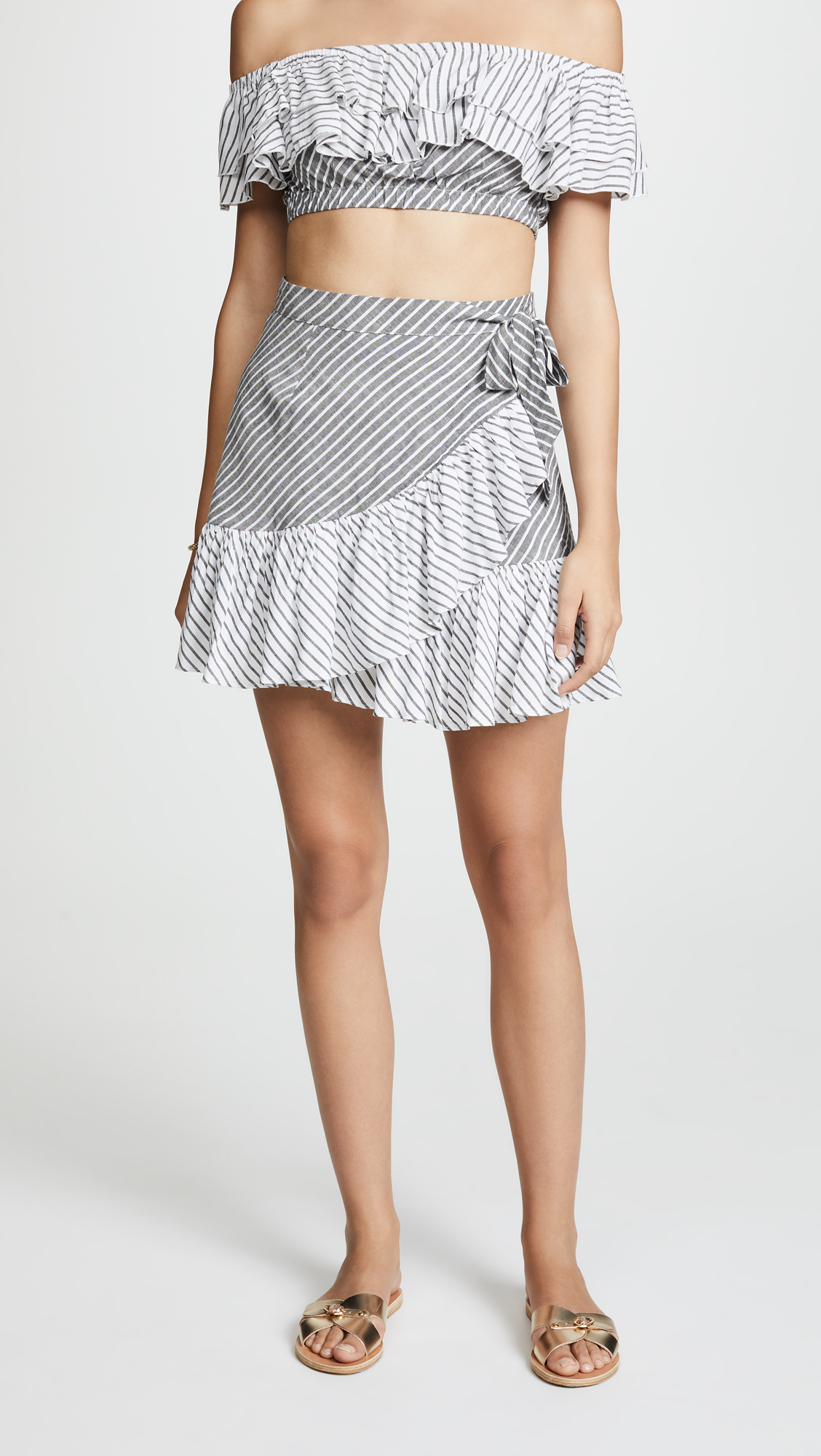 Suboo ZIGGY FRILL MINI SKIRT