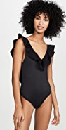 Suboo Chi Chi Bonded Frill Scoop One Piece