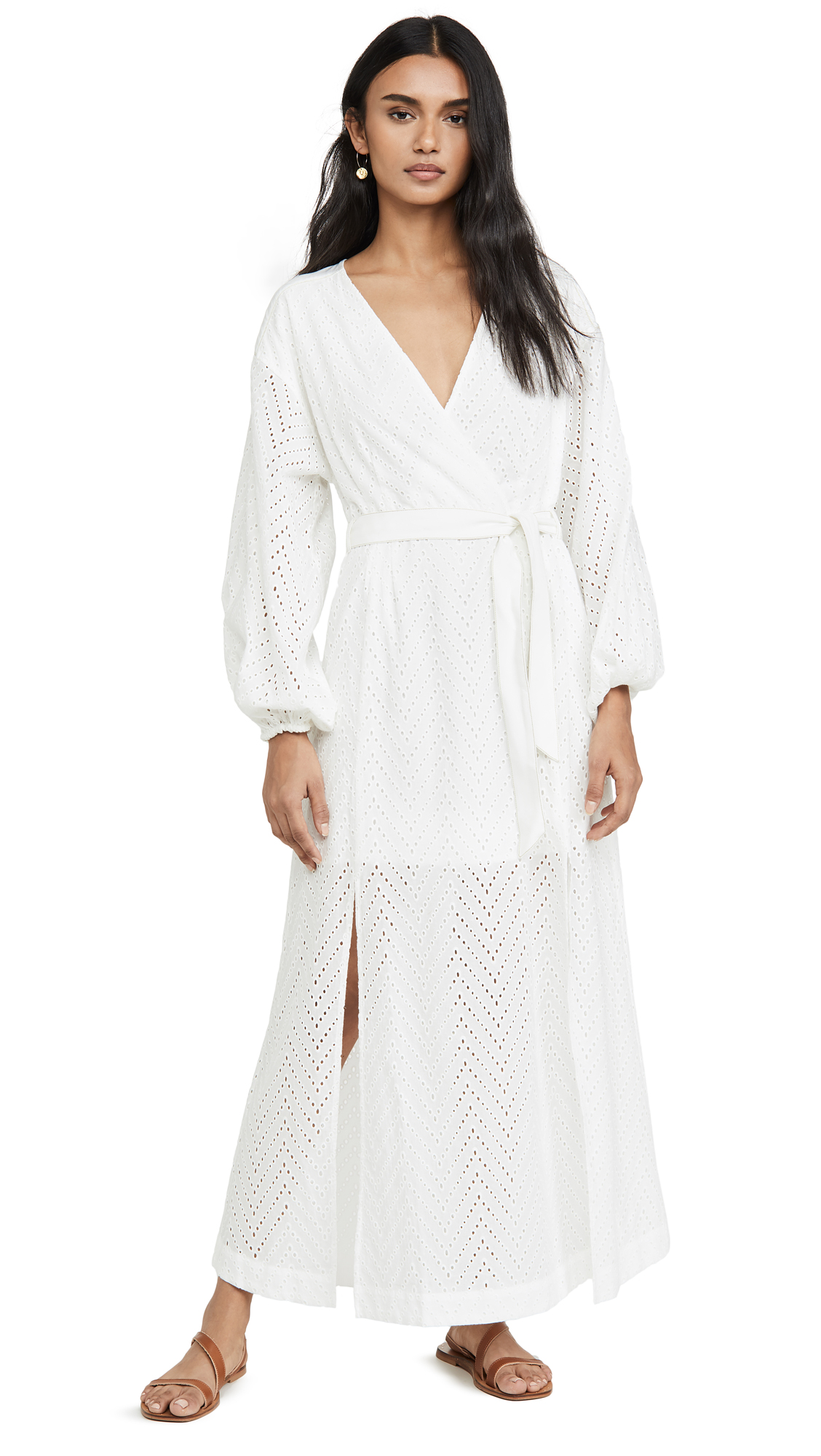 Buy Suboo online - photo of Suboo Goldie Wrap Tie Maxi Dress