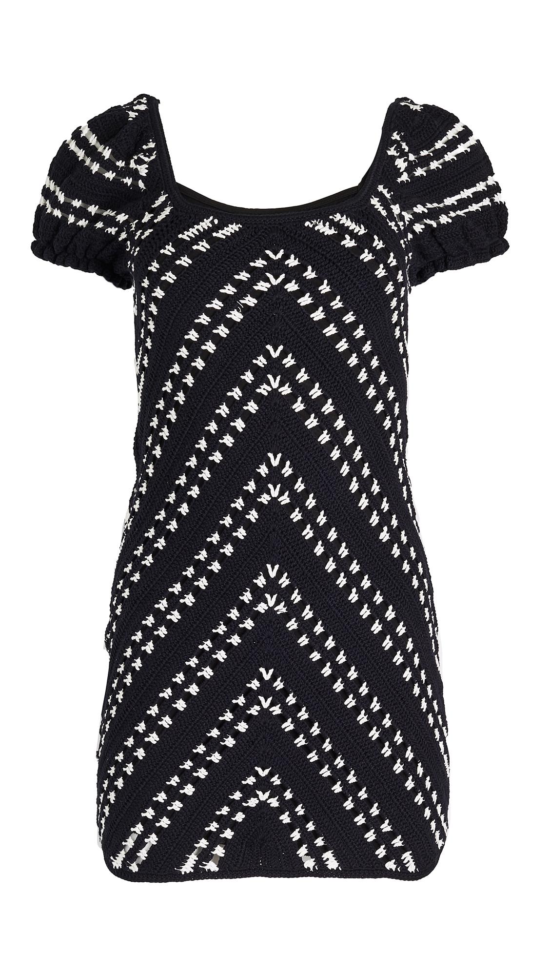 Suboo Harlow Crochet Mini Dress