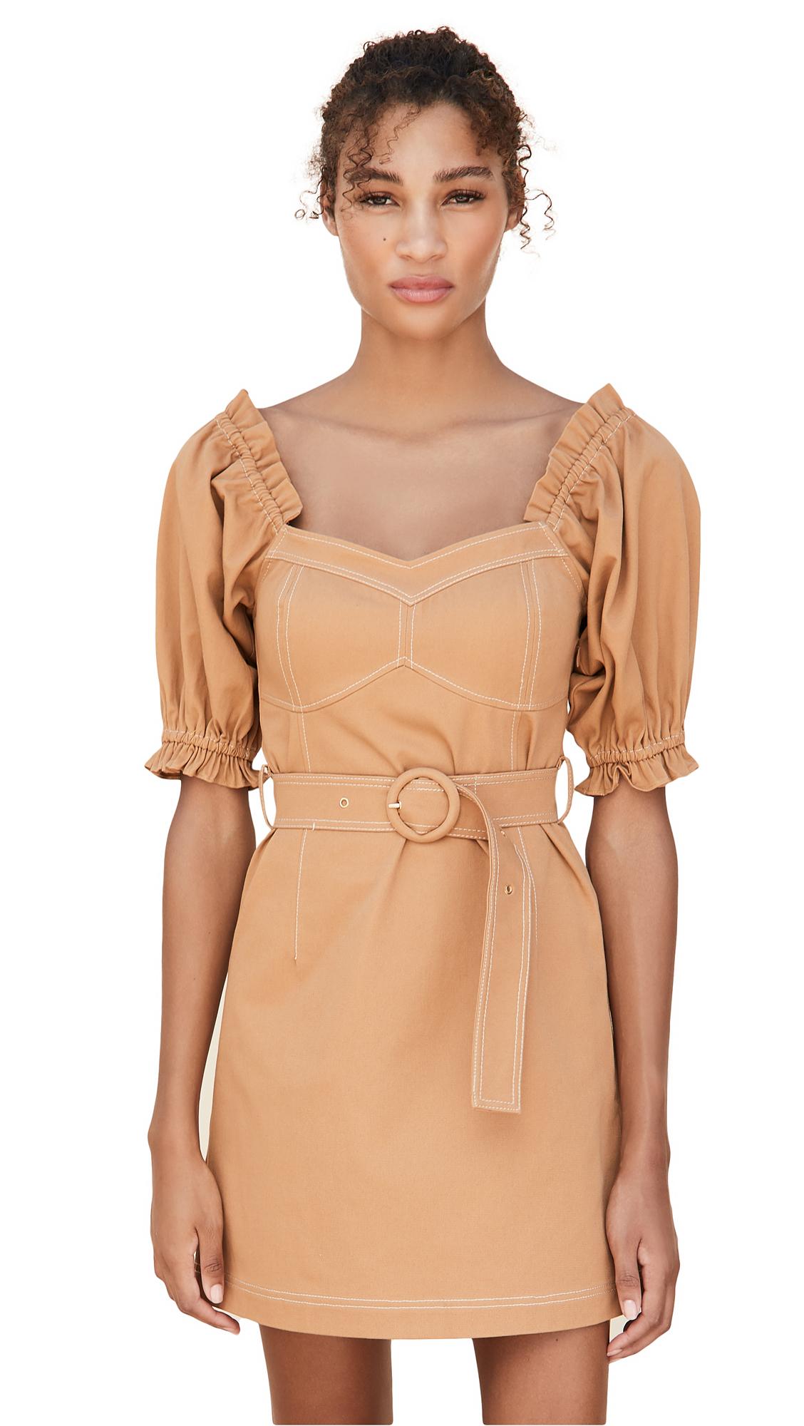 Suboo Iman Balloon Sleeve Mini Dress