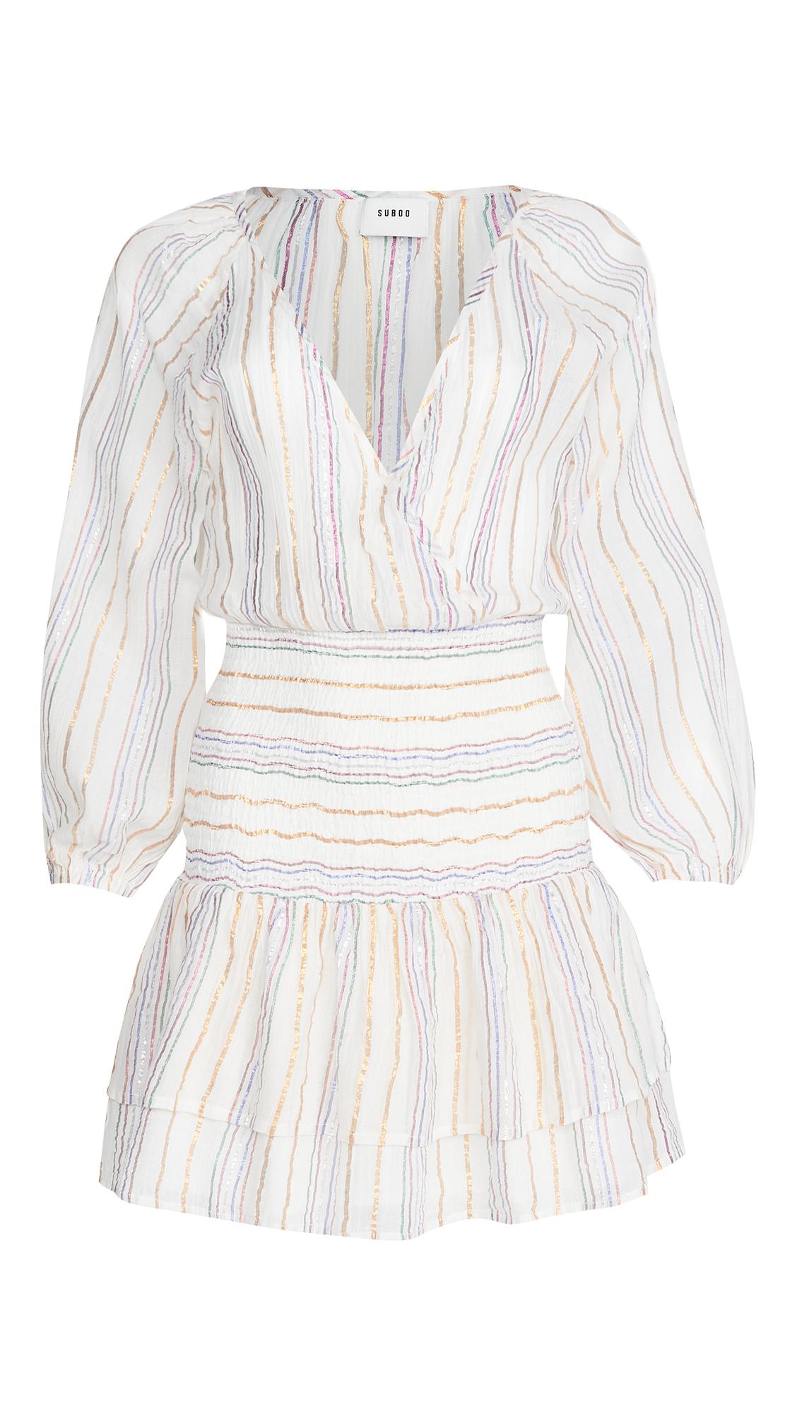 Suboo Giselle Shirred Mini Dress