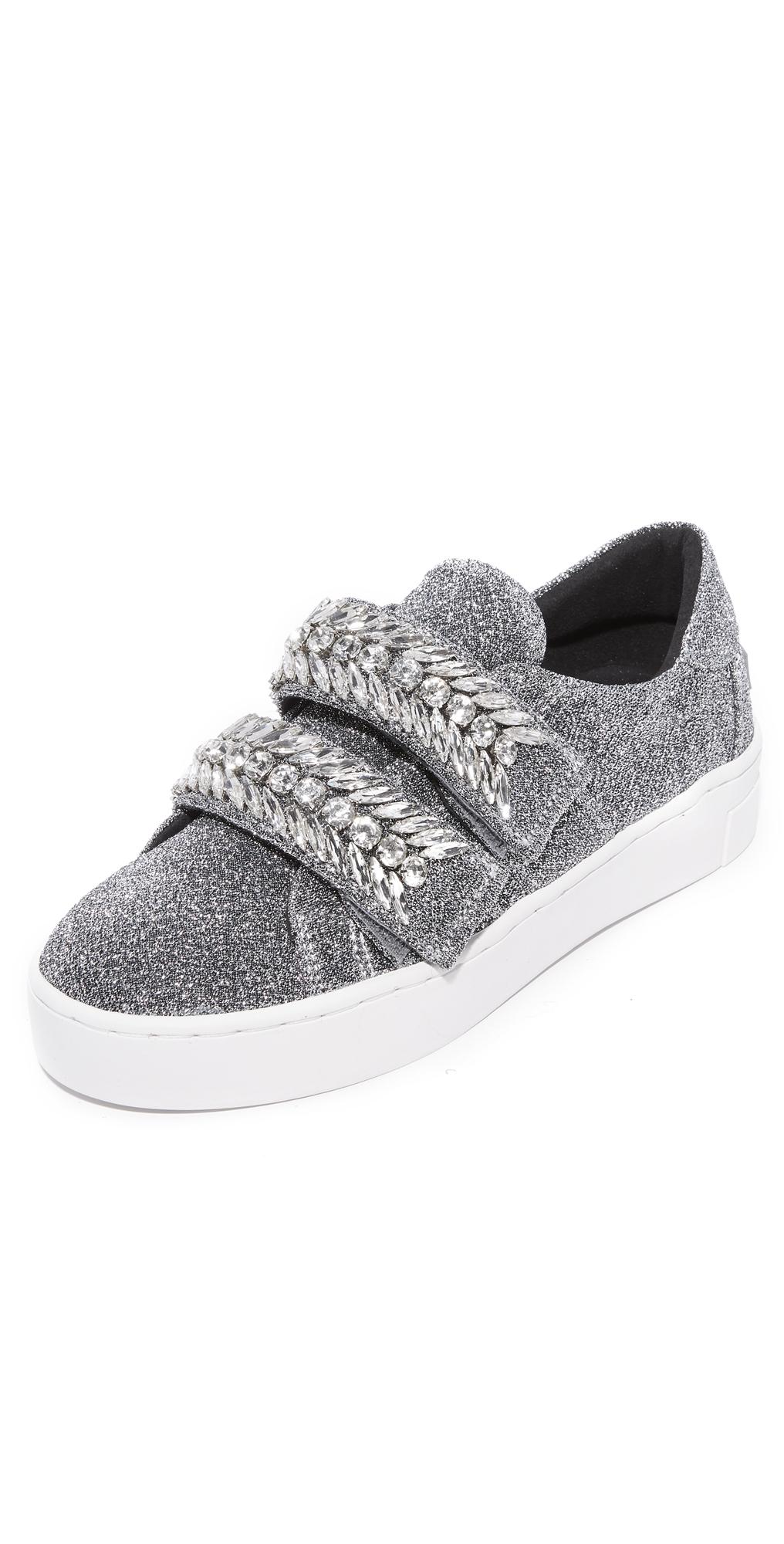 Glitter Jewel Ornament Sneakers Suecomma Bonnie