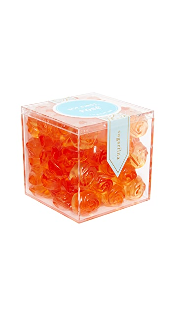 Sugarfina Rosé All Day Roses Gummy Candy