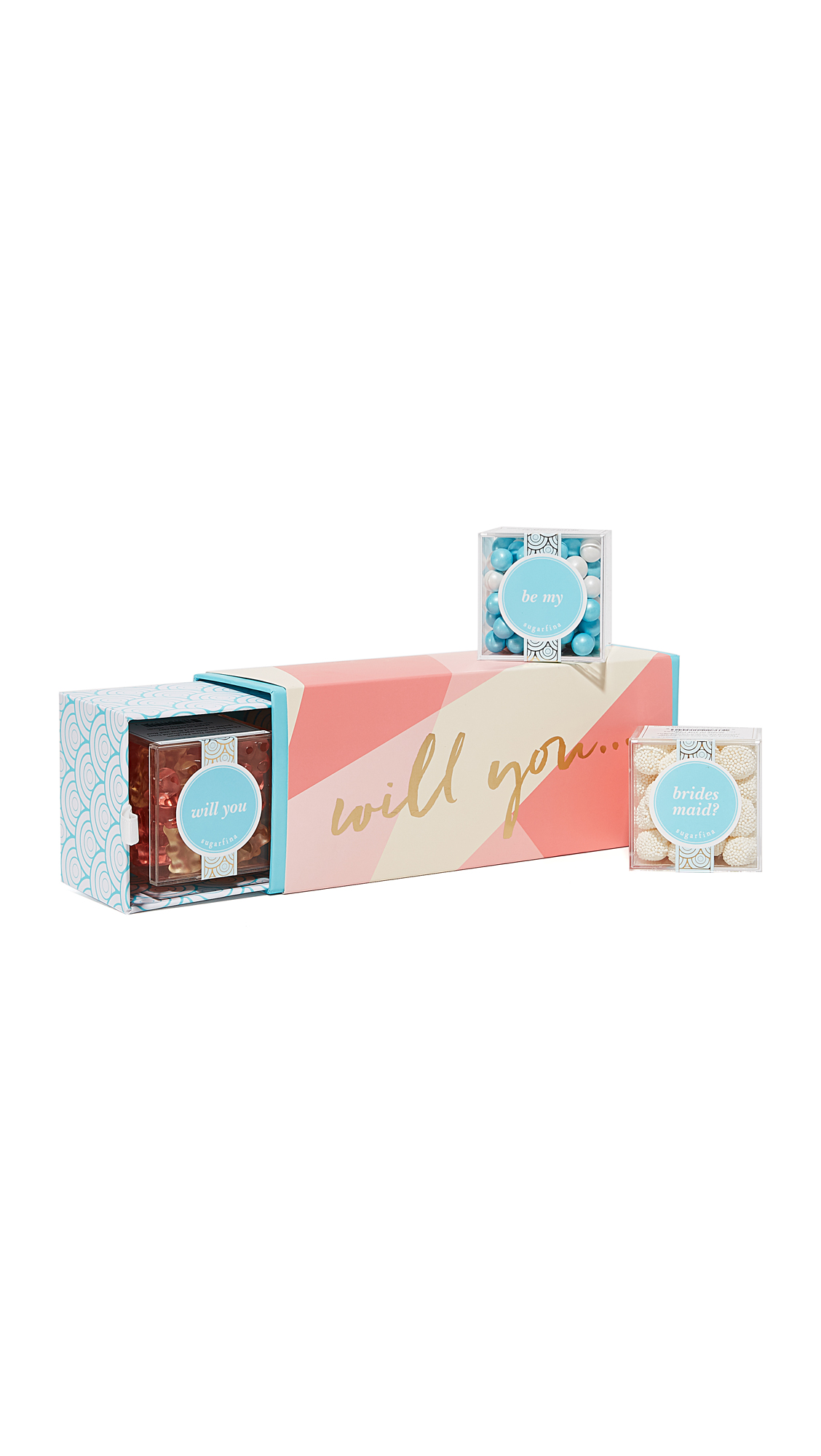 Sugarfina Will You Be My Bridesmaid Bento Box