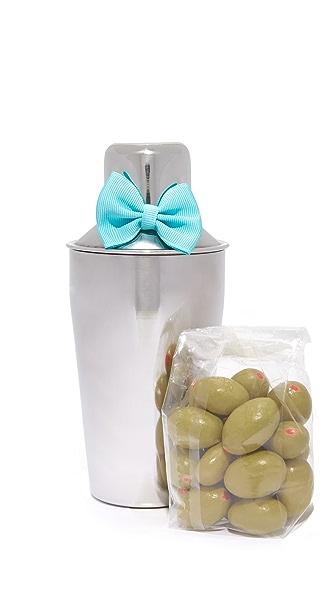 Sugarfina Mini Martini Shaker & Olive Set