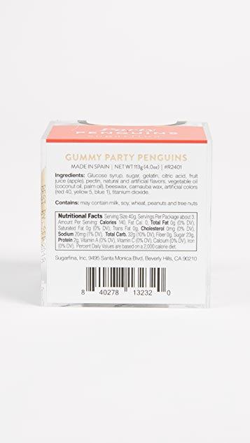 Sugarfina Party Penguin Cube