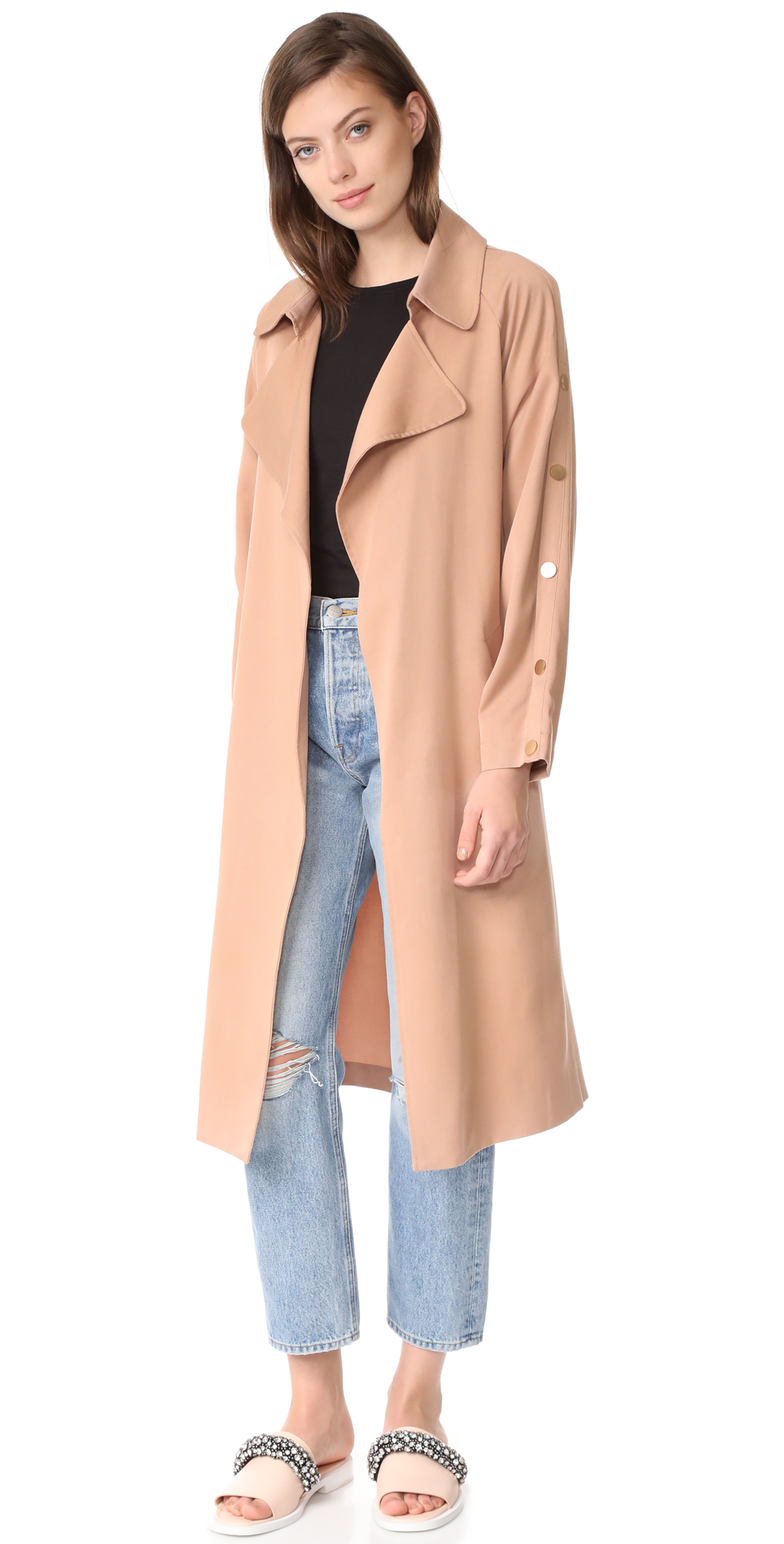 Erik Trench Coat Suncoo