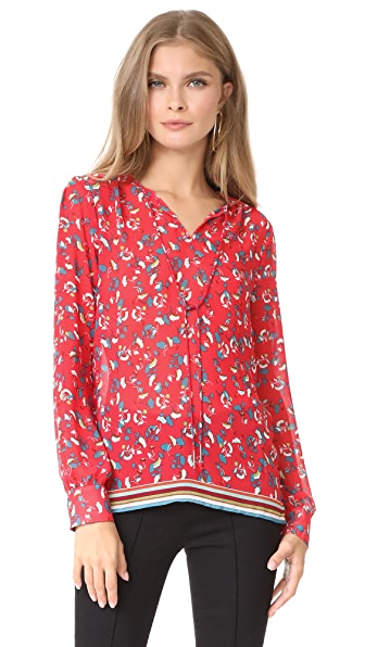 Suncoo Lucille Top - Rouge