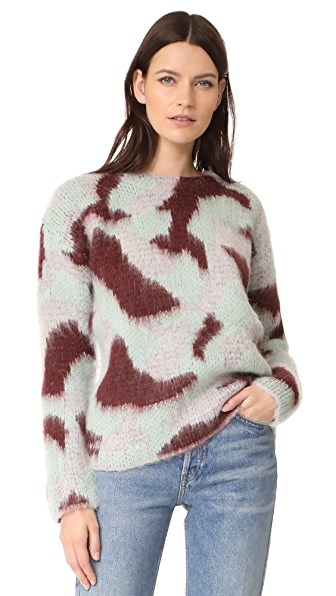 Suncoo Petrus Sweater - Bourgogne