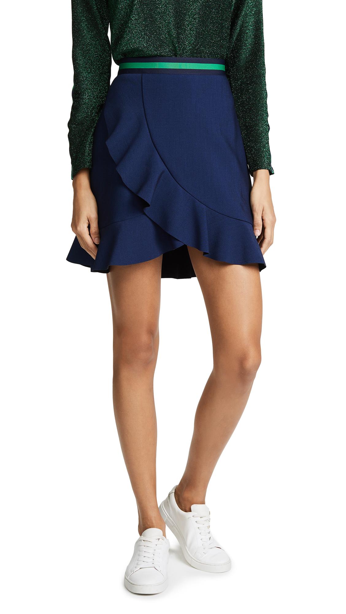 Suncoo Jupe Skirt In Bleu Nuit
