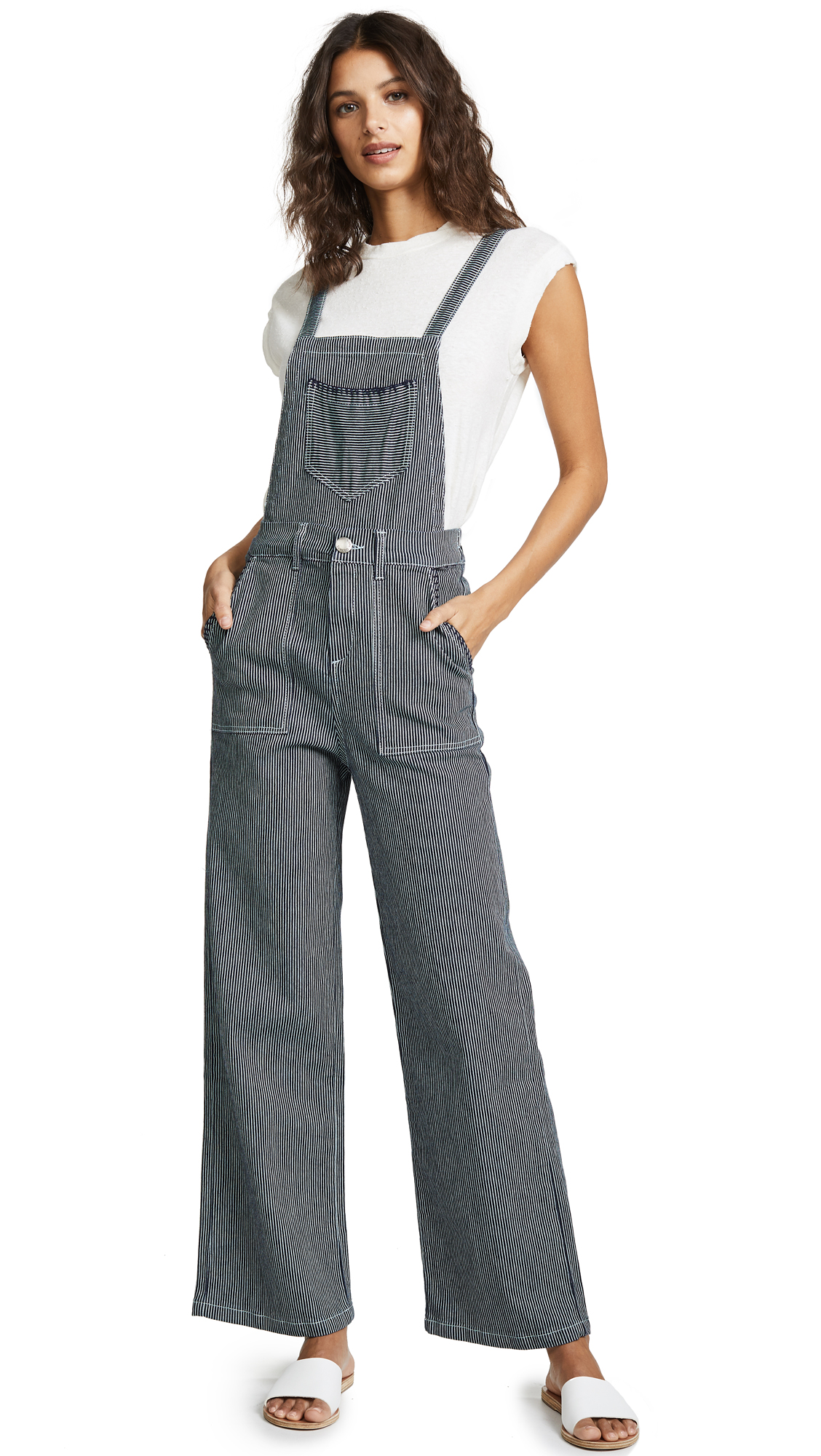 Suncoo Theo Overalls In Bleu Nuit