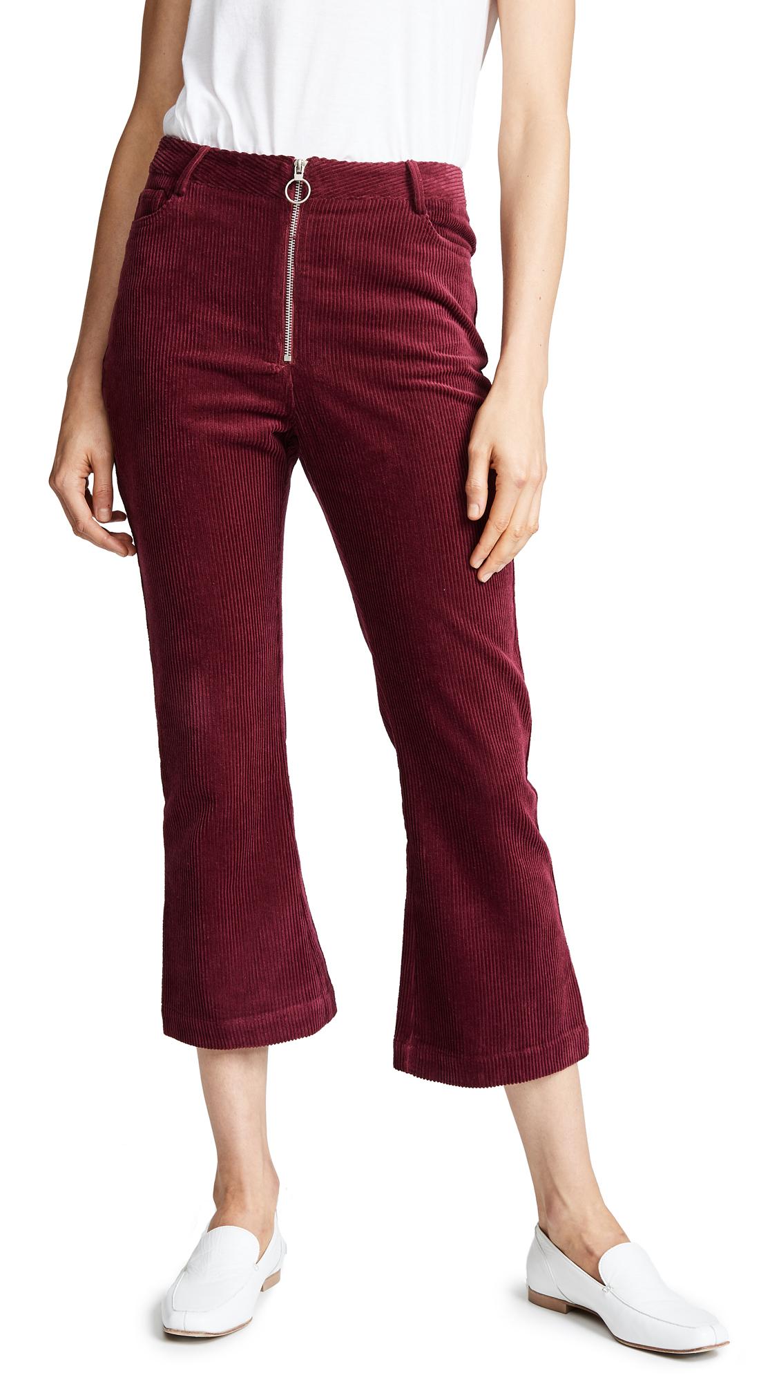 SUNCOO June Trousers in Prune