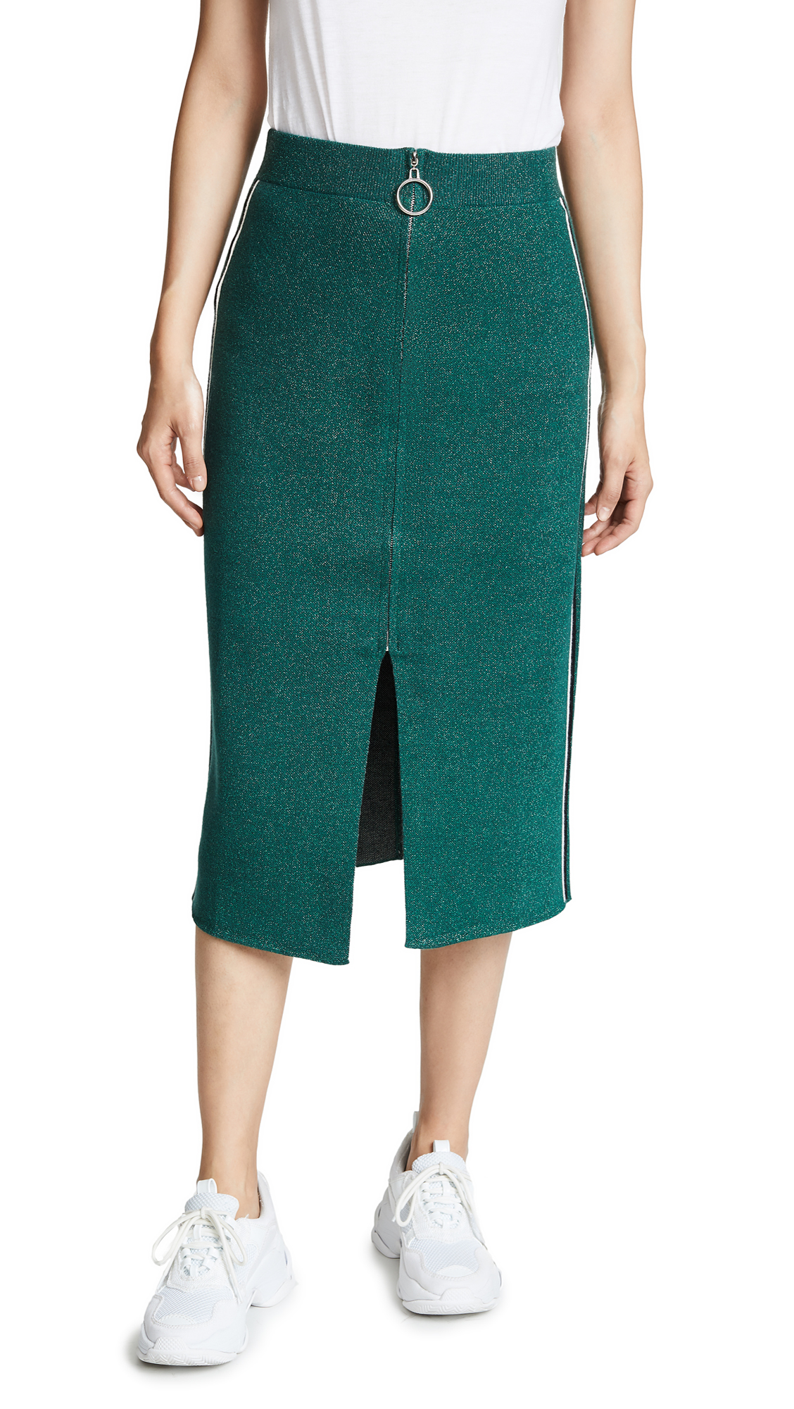 Suncoo Florence Skirt In Green