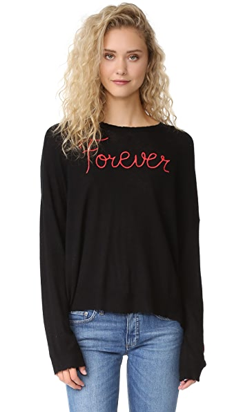 SUNDRY Forever Crew Neck Sweater