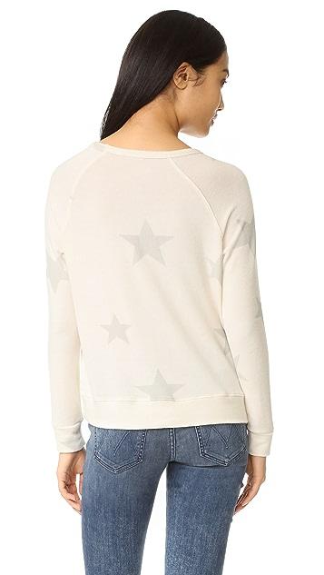 SUNDRY Loved Star Pullover