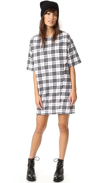 SUNDRY Fray Dress