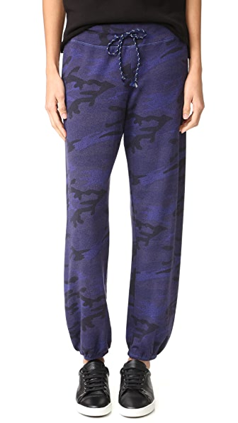 SUNDRY Active Sweatpants - Sapphire
