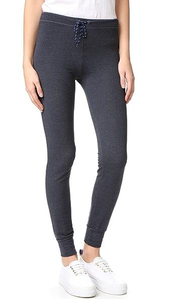 SUNDRY Skinny Sweatpants - Heather Charcoal