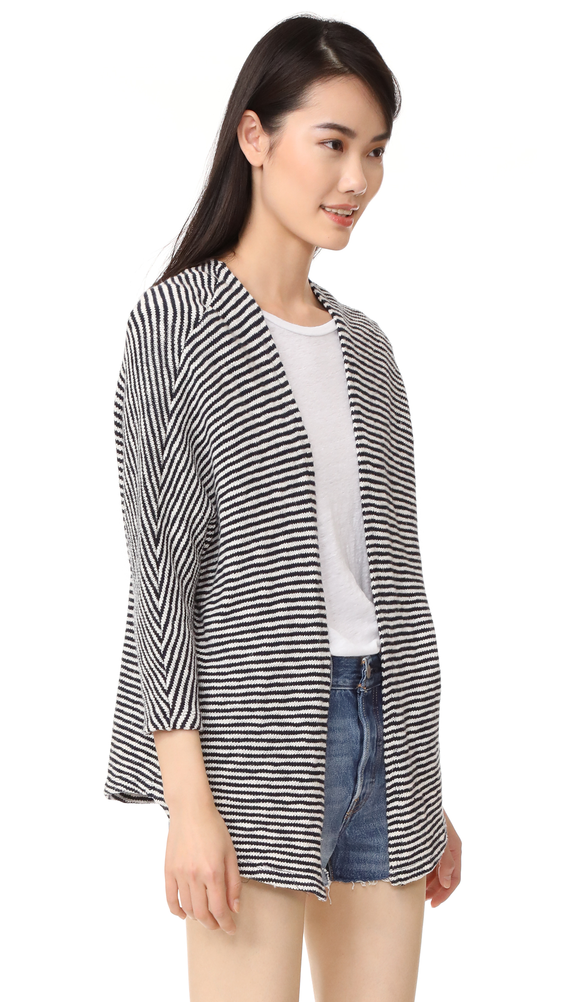 ca238cbfa89f2d SUNDRY Striped Cardigan | SHOPBOP