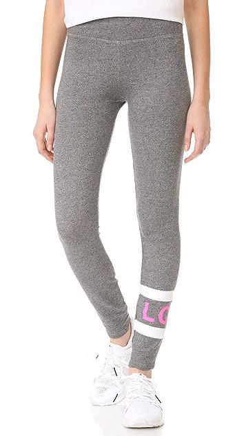 SUNDRY Love Stripes Yoga Pants