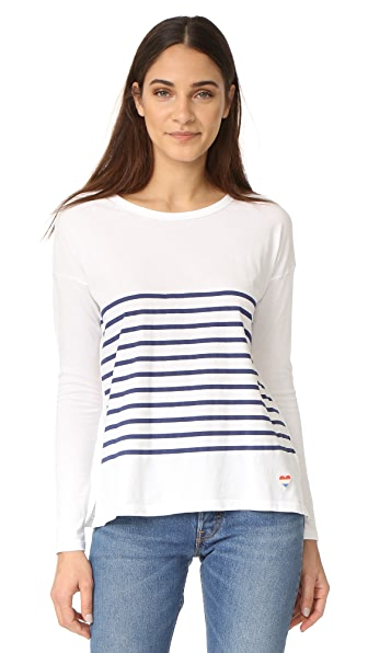 SUNDRY Stripes Long Sleeve