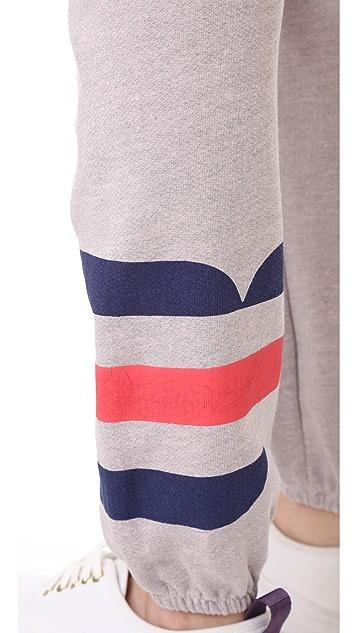 SUNDRY Stripe Sweatpants