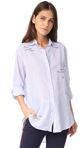 SUNDRY Let's Go Oversized Shirt