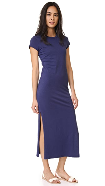 SUNDRY Short Sleeve Maxi Dress | SHOPBOP