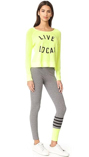 SUNDRY Colorblock Sweatpants