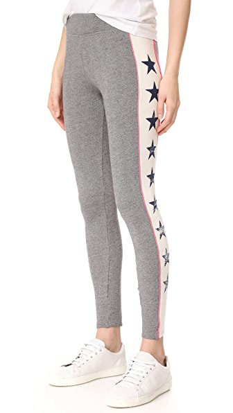 SUNDRY Stars Racer Stripe Leggings