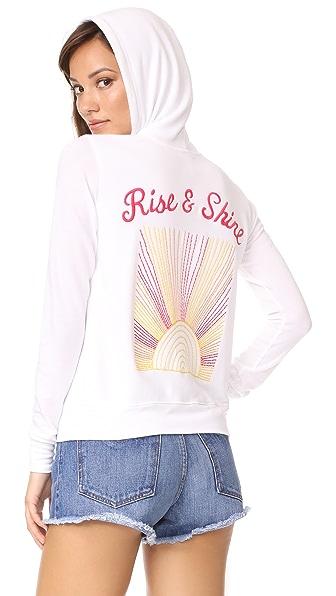 SUNDRY Rise & Shine Zip Hoodie