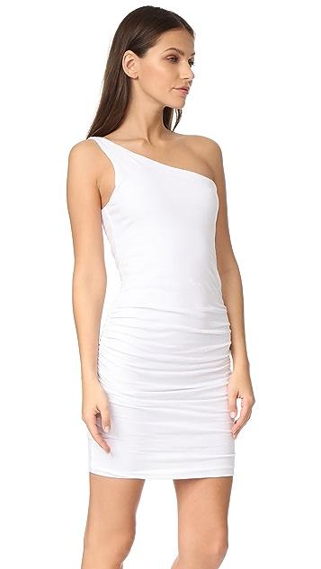 SUNDRY One Shoulder Dress
