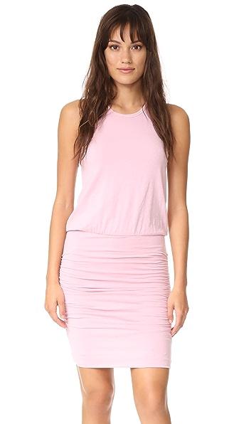 SUNDRY Sleeveless Dress In Rose