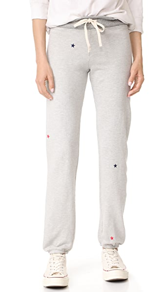 SUNDRY All Over Stars Sweatpants