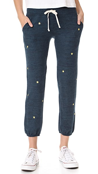 SUNDRY Star Patches Pocket Sweatpants - Navy
