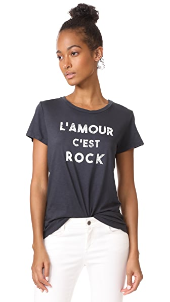 SUNDRY Rock Tee - Soft Black