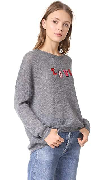 SUNDRY Love Patches Sweater