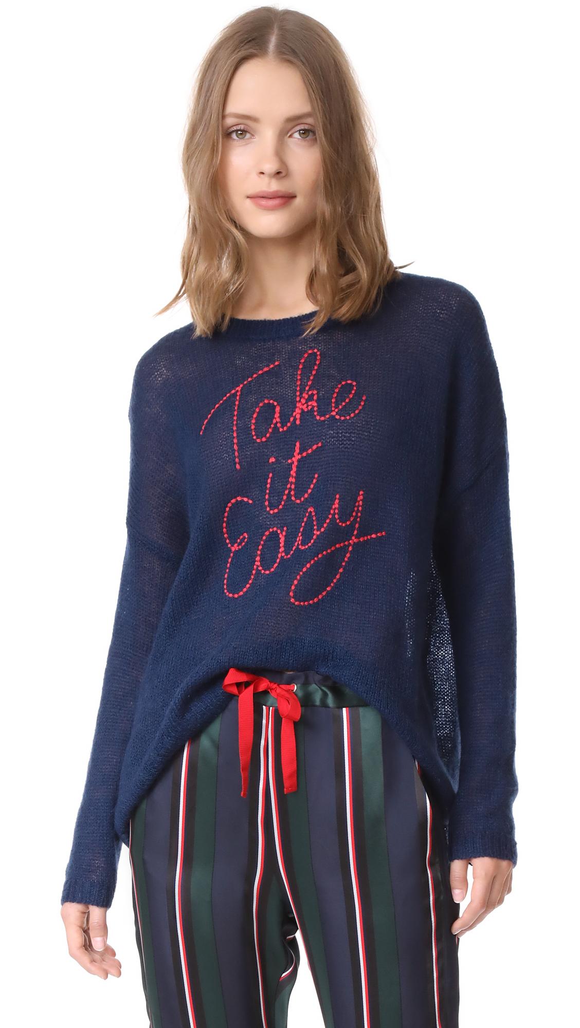 SUNDRY Take It Easy Sweater