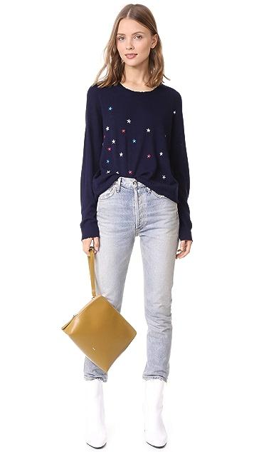 SUNDRY Scattered Star Pullover