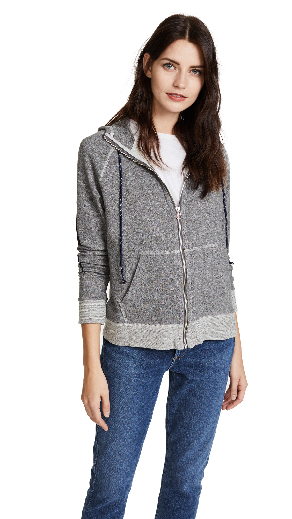SUNDRY Love Me Truly High Neck Hoodie