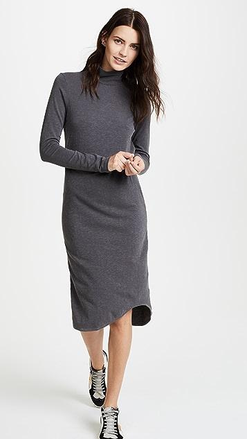 SUNDRY Mock Neck Dress