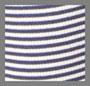 Denim/Off White Stripes