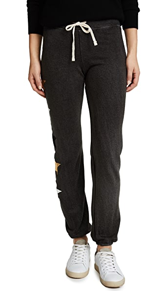 SUNDRY Sweatpants with Side Stars