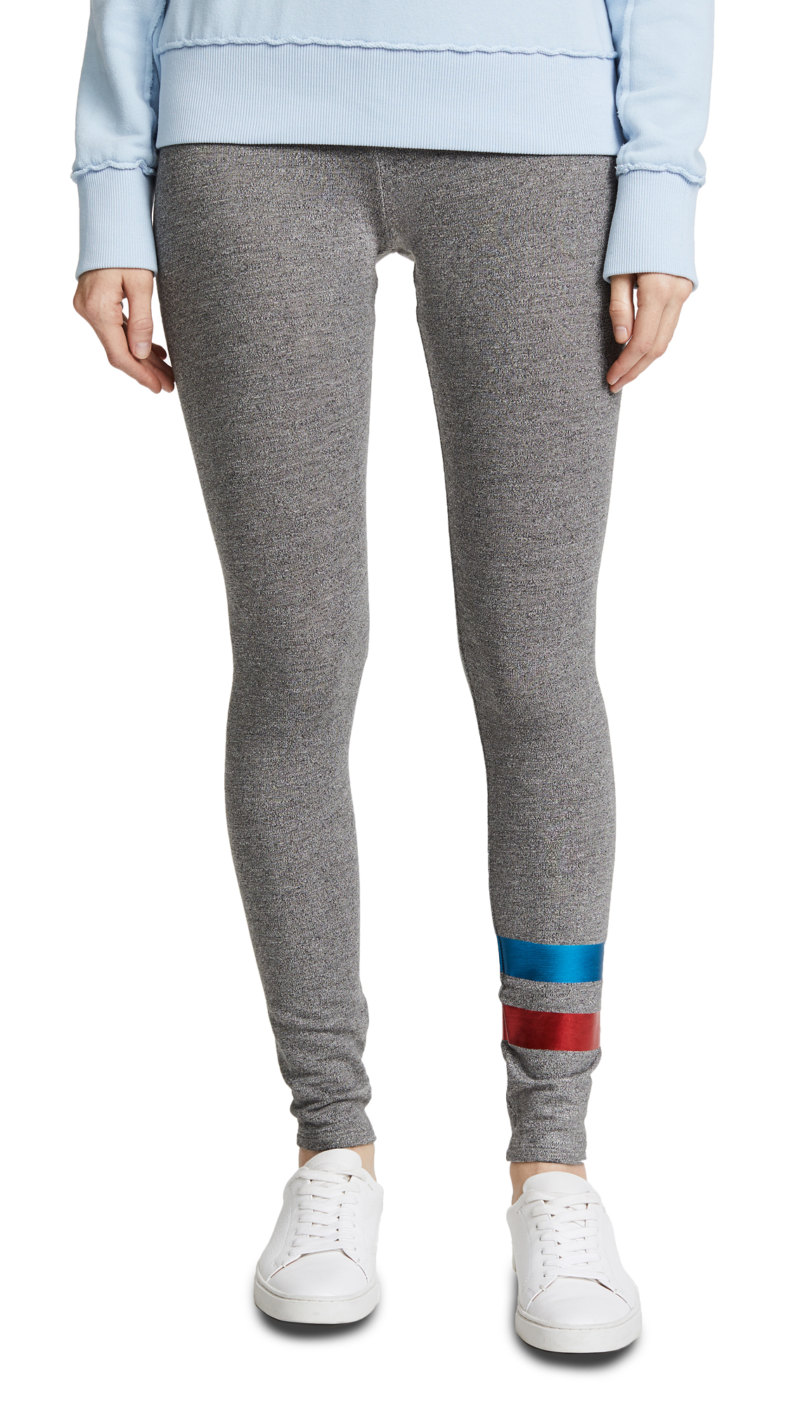 SUNDRY Foil Stripes Yoga Pants