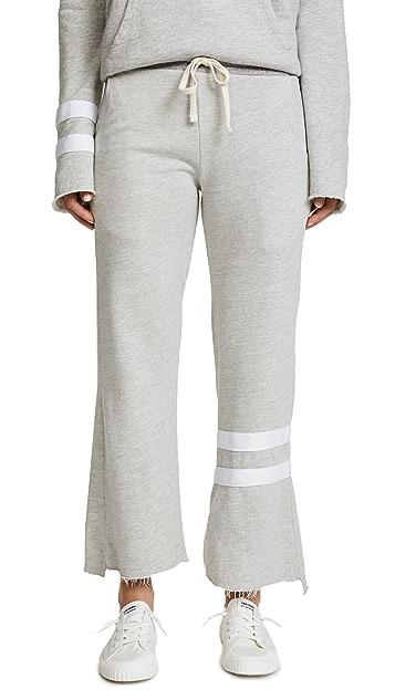 SUNDRY Gray Flare Sweatpants