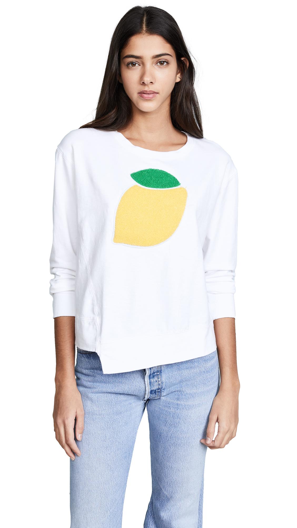 SUNDRY Lemon Sweatshirt