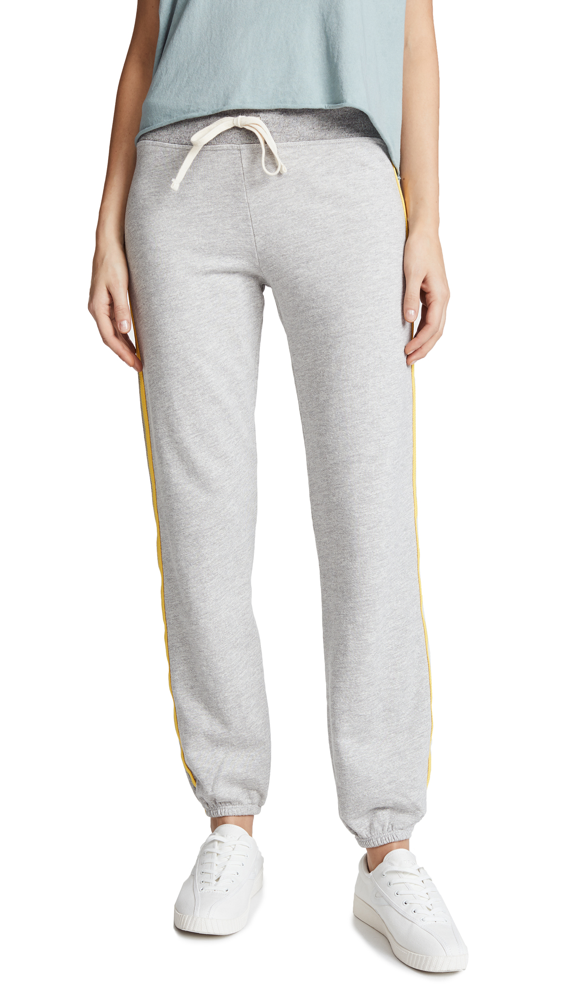 SUNDRY Basic Sweatpants with Stripes